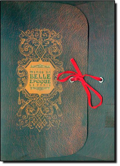 Exposição Menus da Belle Epoque de Paris, livro de BOCCATO