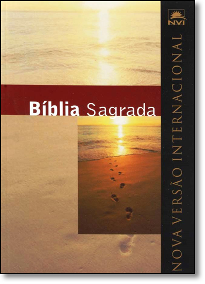 Bíblia Sagrada Nvi Grande - Capa Ilustrada Brochura, livro de SBI - Sociedade Bíblica Internacional