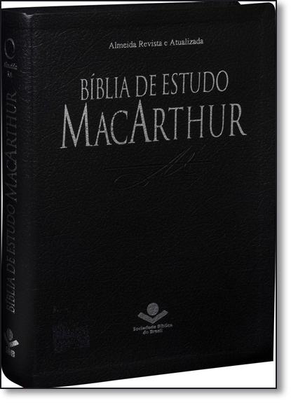 Bíblia de Estudo Mac Arthur, livro de SBB - Sociedade Biblica do Brasil