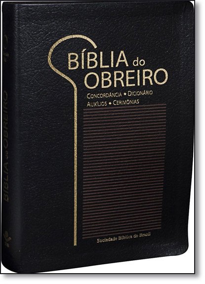 Bíblia do Obreiro - Edição com Letras Vermelhas, livro de SBB - Sociedade Biblica do Brasil