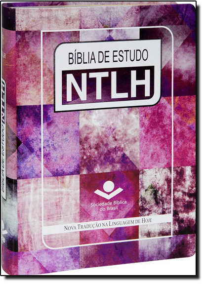 Bíblia de Estudo Ntlh - Capa em Couro Bonded Feminina, livro de SBB - Sociedade Biblica do Brasil