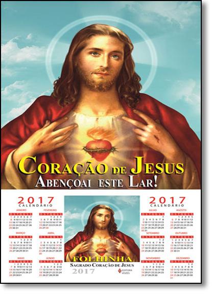 Folhinha do Sagrado Coraçao de Jesus - 2017, livro de Frei Edrian Josué Pasini