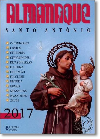 Almanaque Santo Antônio 2017, livro de Edrian Josué Pasini