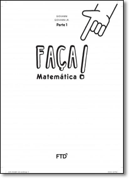 Faça Matemática: A Conquista - 1º Ano, livro de Jose Ruy Giovanni