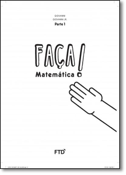 Faça Matemática - 5º ano, livro de José Ruy Giovanni