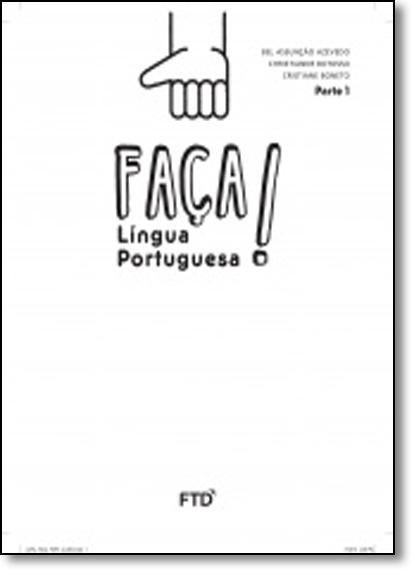Faça Língua Portuguesa: 1º ano, livro de Isabella Carpaneda