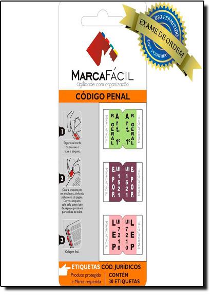 Etiquetas Para Códigos Jurídicos Marca Fácil: Código Penal, livro de Unigráfica 28 Express