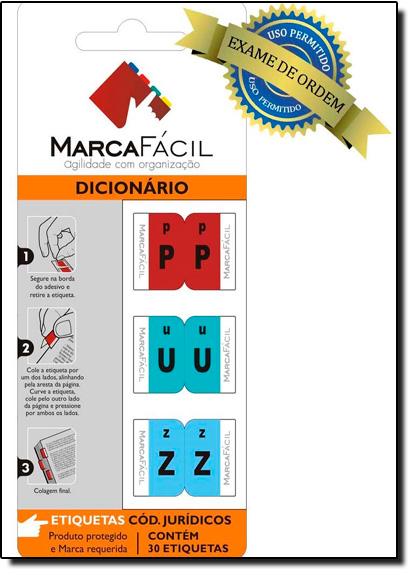 Etiquetas Para Códigos Jurídicos Marca Fácil: Dicionário, livro de Unigráfica 28 Express