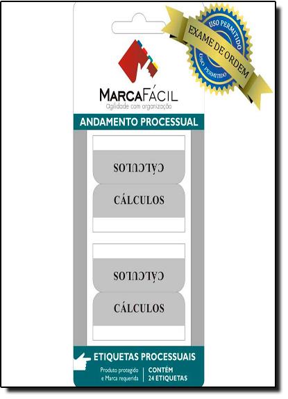 Etiquetas Para Códigos Processuais Marca Fácil: Cálculos, livro de Unigráfica 28 Express