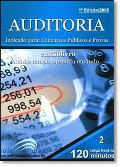 Auditoria, livro de EDITORA AUDIO