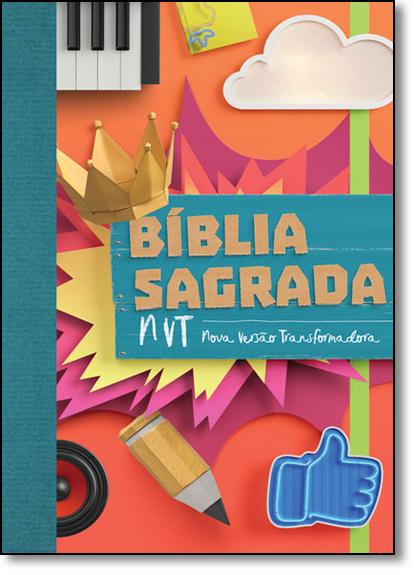 Bíblia Sagrada - Nvt - Colagem Letra Normal, livro de Vários Autores