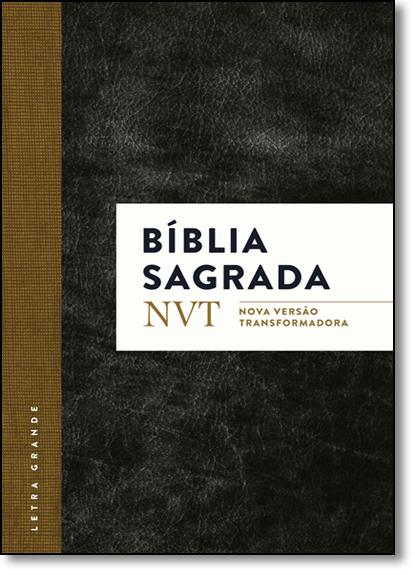 Bíblia Sagrada - Nvt - Clássica Letra Grande, livro de Vários Autores