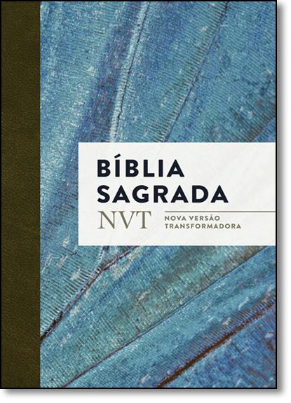 Bíblia Sagrada - Nvt - Azul Claro Letra Normal, livro de Vários Autores