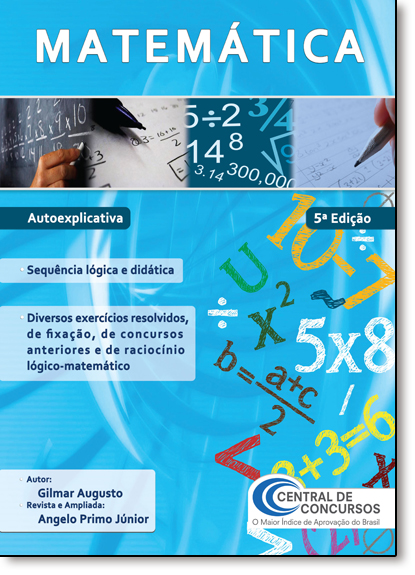 Matemática, livro de Gilmar Augusto