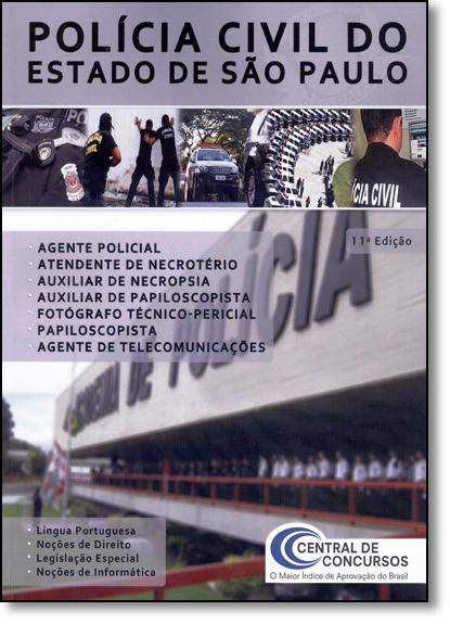 Polícia Civil do Estado de São Paulo, livro de Central de Concursos