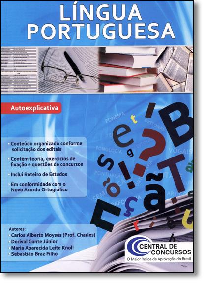 Língua Portuguesa, livro de Central de Concursos