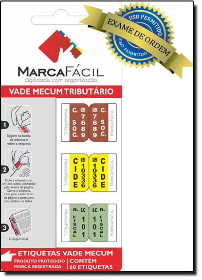 Etiquetas Jurídicas Vade Mecum Tributário, livro de Editora Marca Fácil