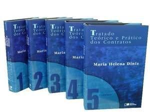 TRATADO TEORICO E PRATICO DOS CONTRATOS - 5 VOLS. - 6ª EDICAO - 6 ED., livro de DINIZ, MARIA HELENA