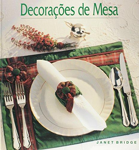 Decorações de Mesa, livro de Janet Bridge