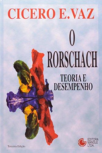 O Rorschach-Teoria e Desempenho, livro de Vaz, Cícero E.