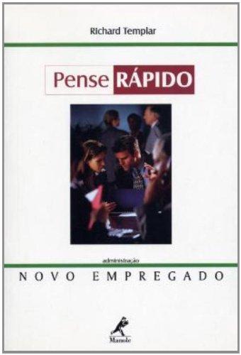 Novo Empregado-Pense Rápido, livro de Richard Templar