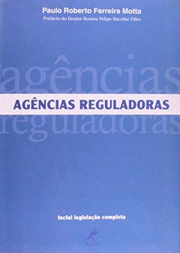 Agências Reguladoras, livro de Motta, Paulo Roberto Ferreira
