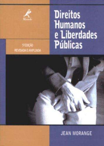 Direitos Humanos e Liberdades Públicas – 5ª edição, livro de Morange, Jean