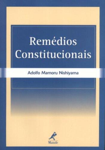 Remédios Constitucionais, livro de Adolfo Mamoru Nishiyama