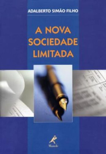 A Nova Sociedade Limitada, livro de Adalberto Simão Filho
