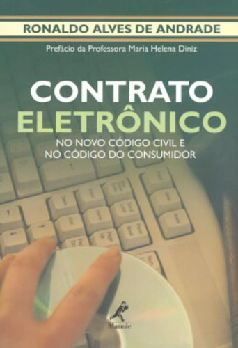 Contrato Eletrônico, livro de Ronaldo Alves de Andrade