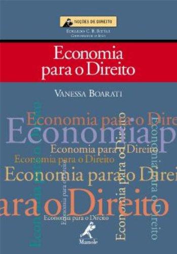 Economia para o Direito, livro de Vanessa Boarati