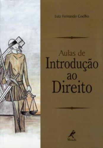 Aulas de Introdução ao Direito, livro de Coelho, Luiz Fernando