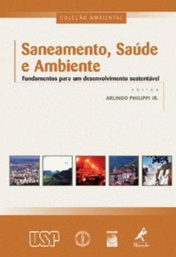 Saneamento, Saúde e Ambiente, livro de Philippi Jr., Arlindo