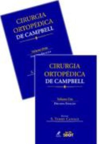 Cirurgia Ortopédica de Campbell , livro de Canale, S. Terry