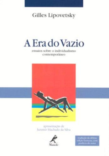 A Era do Vazio, livro de Gilles Lipovetsky