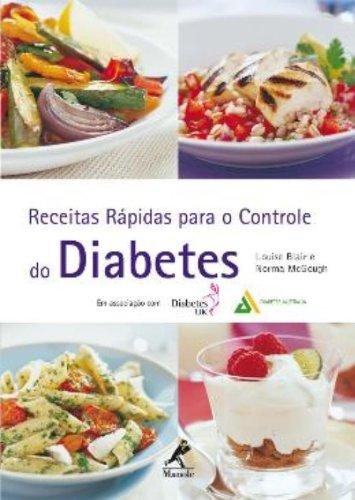 Receitas Rápidas para o Controle do Diabetes, livro de Louise Blair, Norma McGough