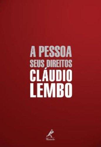 A Pessoa: Seus Direitos, livro de Cláudio Lembo