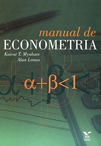 Manual de econometria, livro de Alan Alexander Mendes Lemos, Kairat Turysbekovich Mynbaev