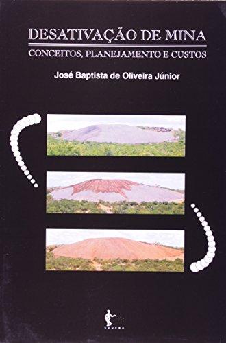 Desativação de mina, livro de OLIVEIRA JÚNIOR, José Baptista de.