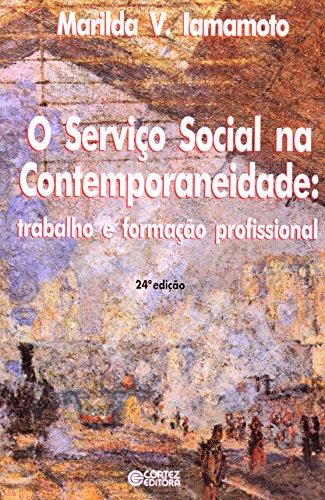 Serviço Social na contemporaneidade, O - trabalho e formação profissional, livro de IAMAMOTO, MARILDA VILELA