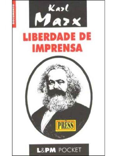 LIBERDADE DE IMPRENSA, livro de Karl Marx