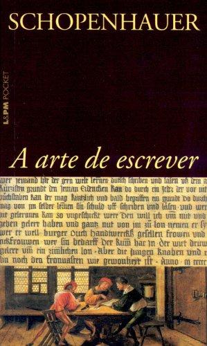ARTE DE ESCREVER, A, livro de Arthur Schopenhauer