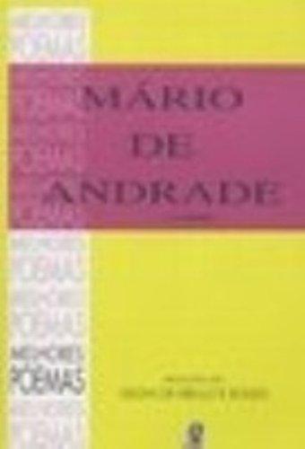 Melhores Poemas Mário de Andrade, livro de Gilda de Mello e Souza