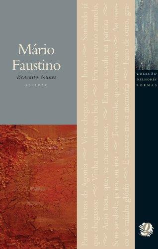 Melhores Poemas de Mario Faustino, Os, livro de Benedito Nunes