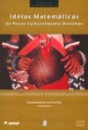Idéias Matemáticas de Povos Culturalmente Distintos, livro de Mariana Kawall Leal Ferreira