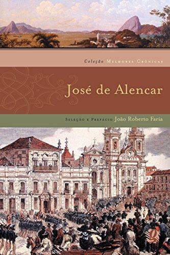 Melhores Crônicas José de Alencar, livro de Jose de Alencar