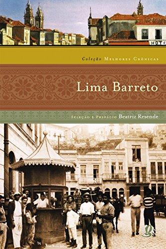 Melhores Crônicas Lima Barreto, livro de Lima Barreto
