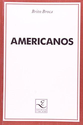 Americanos, livro de Brito Broca