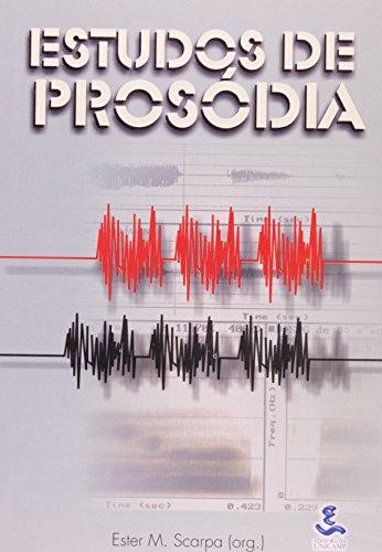 Estudos de prosódia, livro de Ester M. Scarpa (Org.)