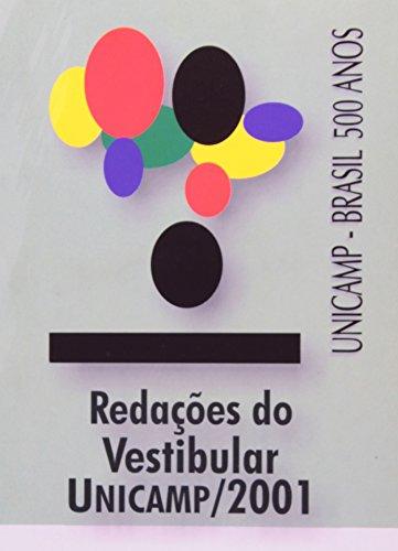 Redações do vestibular Unicamp - Ano 2001, livro de COMVEST